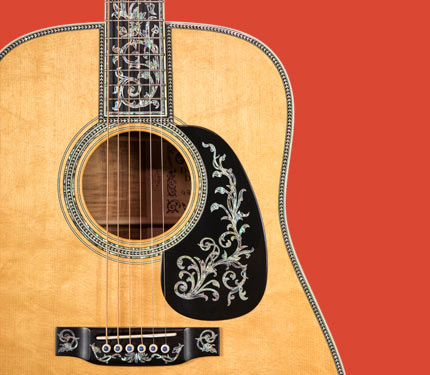 Martin D-90 Inlay Detail