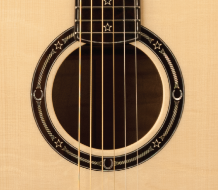 PRS Country Western rosette detail
