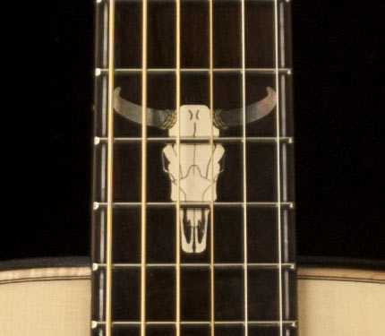 PRS Country Western skull Inlay