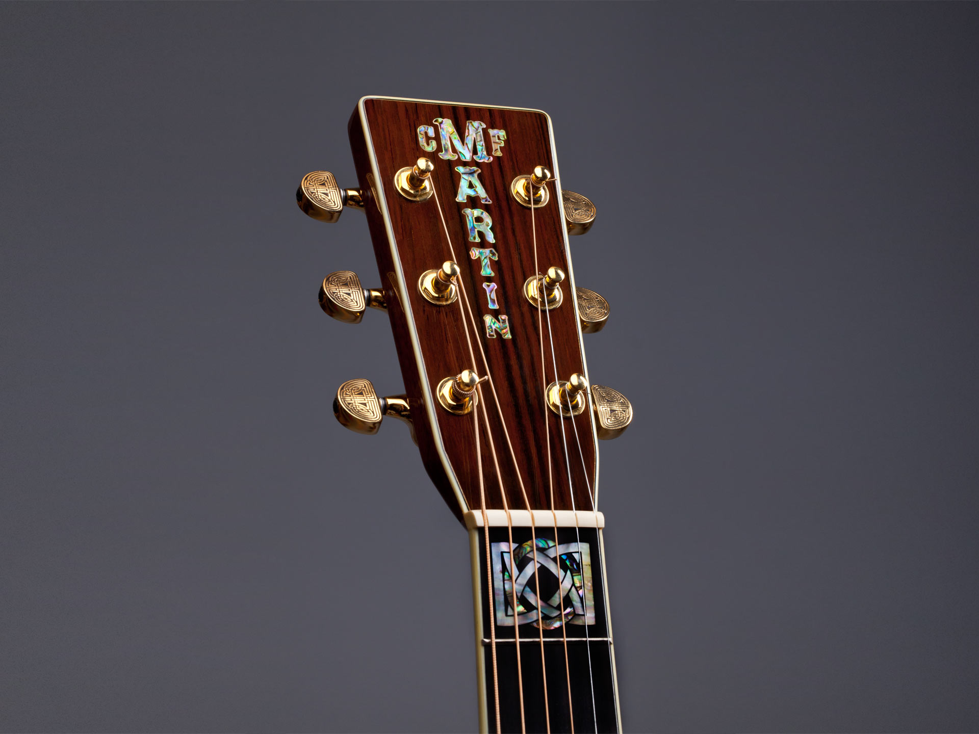 Martin Celtic Knot Pearl Works Inlay Artisans